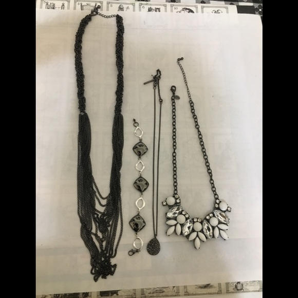 Kenneth Cole Jewelry - Black and white jewelry bundle